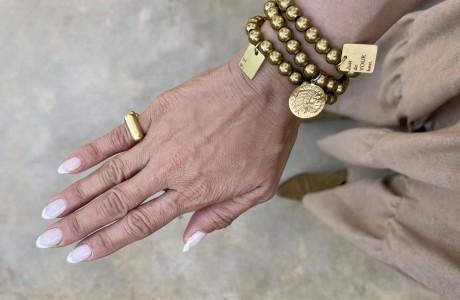 טבעת דיסקית מפליז/בראס