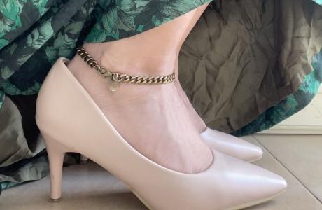צמיד רגל  גורמט עשויי בראס