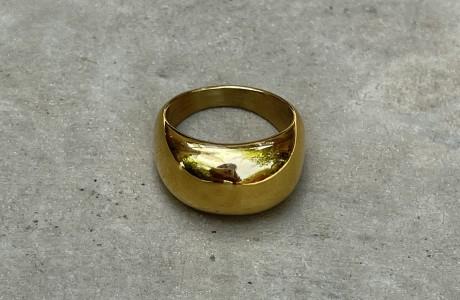 טבעת בלון בציפוי זהב