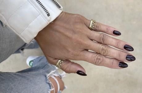 טבעת כתר בפליז