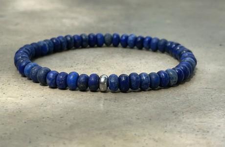 צמיד אבנים בגווני כחול