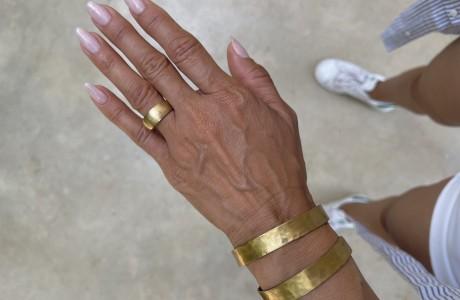 טבעת קלאסית בראס