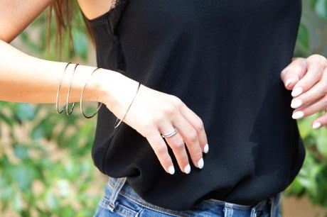 טבעת מלופפת דקה