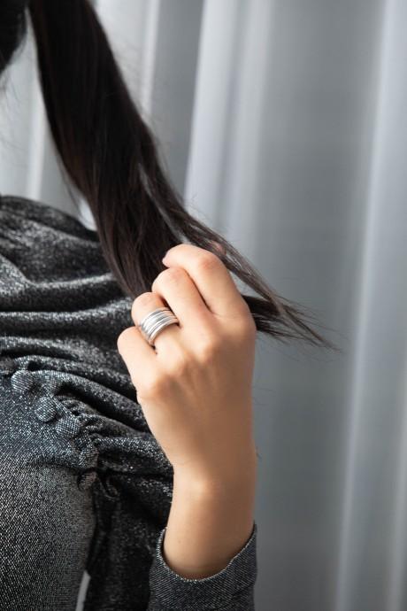 טבעת כסף מלופפת