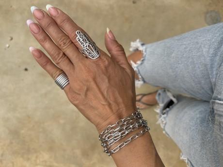 צמיד מלופף לאישה מאיה אהרוני תכשיטים