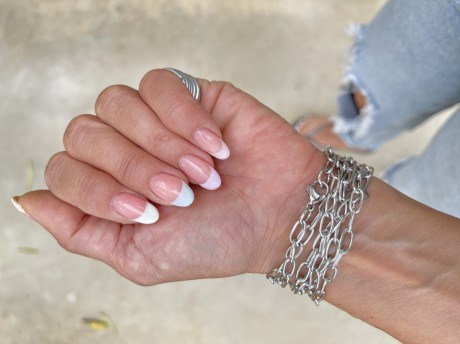 צמיד לולאות כסף , מאיה אהרוני תכשיטים