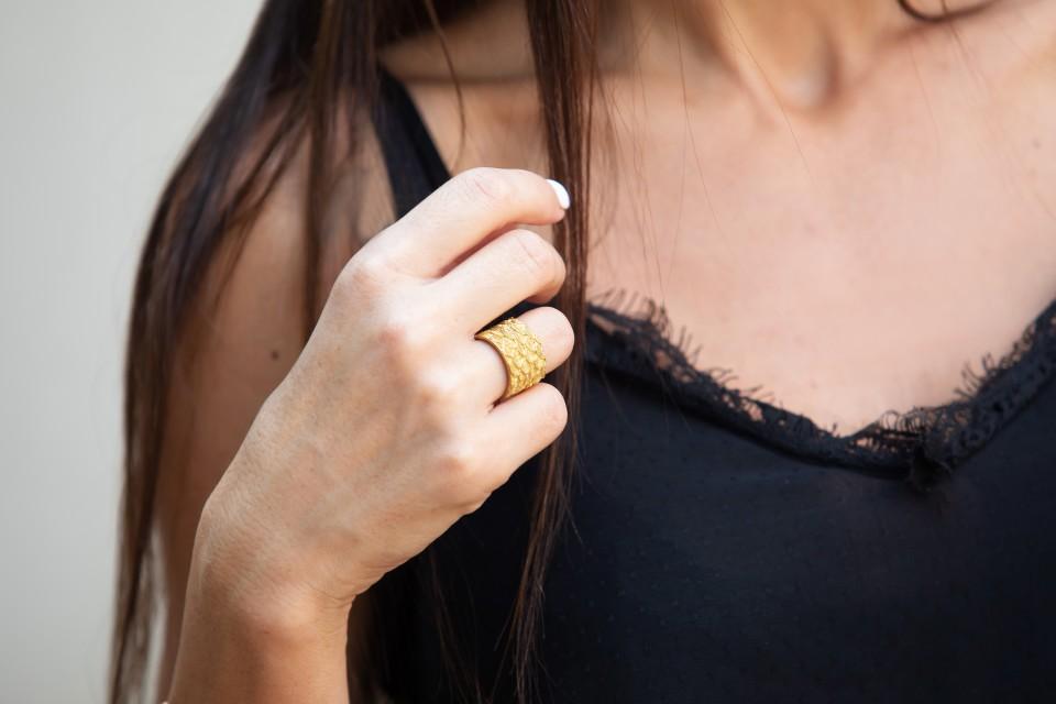 טבעת בראס פתוחה